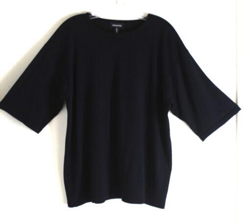 Os fine Sort fin Merino Eskandar Ultra Wool 28 Eskandar Uld Ultra 28 Os Merino Black FwxZ8Rq