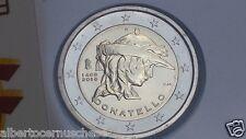 2 euro 2016 ITALIA DONATELLO 550 morte 1386 1466 italie italy italien Италия