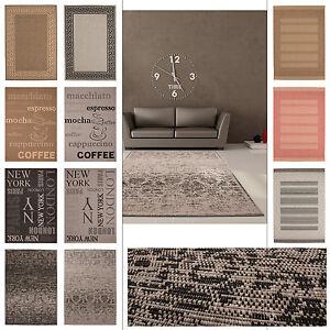 Moderne teppiche  Moderne Teppiche Flachflor Designer SISAL Look Sonderangebot ...