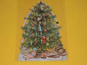 1x poesiebilder oblaten weihnachtsbaum 195 spielzeug. Black Bedroom Furniture Sets. Home Design Ideas