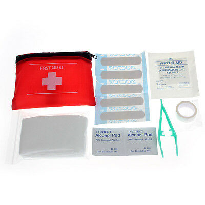 Mini Emergency Survival First Aid Kit Pack Travel Medical Sports Home Bag cute