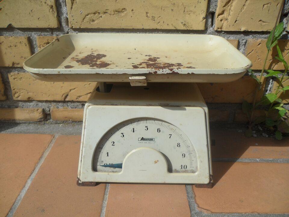 Andre samleobjekter, Gammel Norsk 10kg's vægt