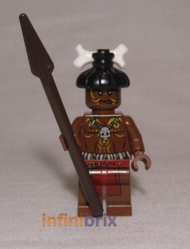 LEGO CANNIBALE 1 da Set 4182 CANNIBALE Escape Pirati dei Caraibi poc008