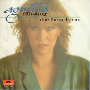 AGNETHA-FALTSKOG-ABBA-The-Heat-Is-On-1983-VINYL-SINGLE-7-034-HOLLAND