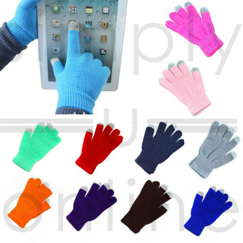 Unisex Winter Touch Screen Gloves iPhone iPad Smart Mobile Phone Tablet