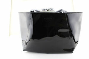 fb71880018 Givenchy Parfums My Fair Lady Shiny Black Bag Purse Tote With Straps ...
