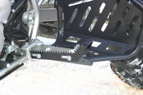 Yamaha raptor 250 CNC foot peg extensions HEPatv new