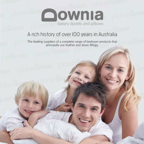 DOWNIA Classique 85/% White Duck Down and 15/% Feather Quilt Doona QUEEN BED  SIZE