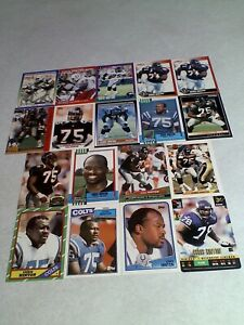 Chris-Hinton-Lot-of-125-cards-40-DIFFERENT-Football
