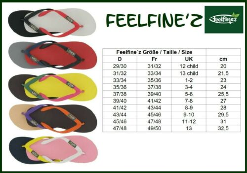 Feelfine/'z lila Zehentrenner 37//38 bis 43//44 FSC Naturkautschuk Provence nude