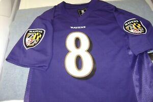BALTIMORE RAVENS Lamar Jackson Youth 14/16 Large Jersey NEW NFL   eBay