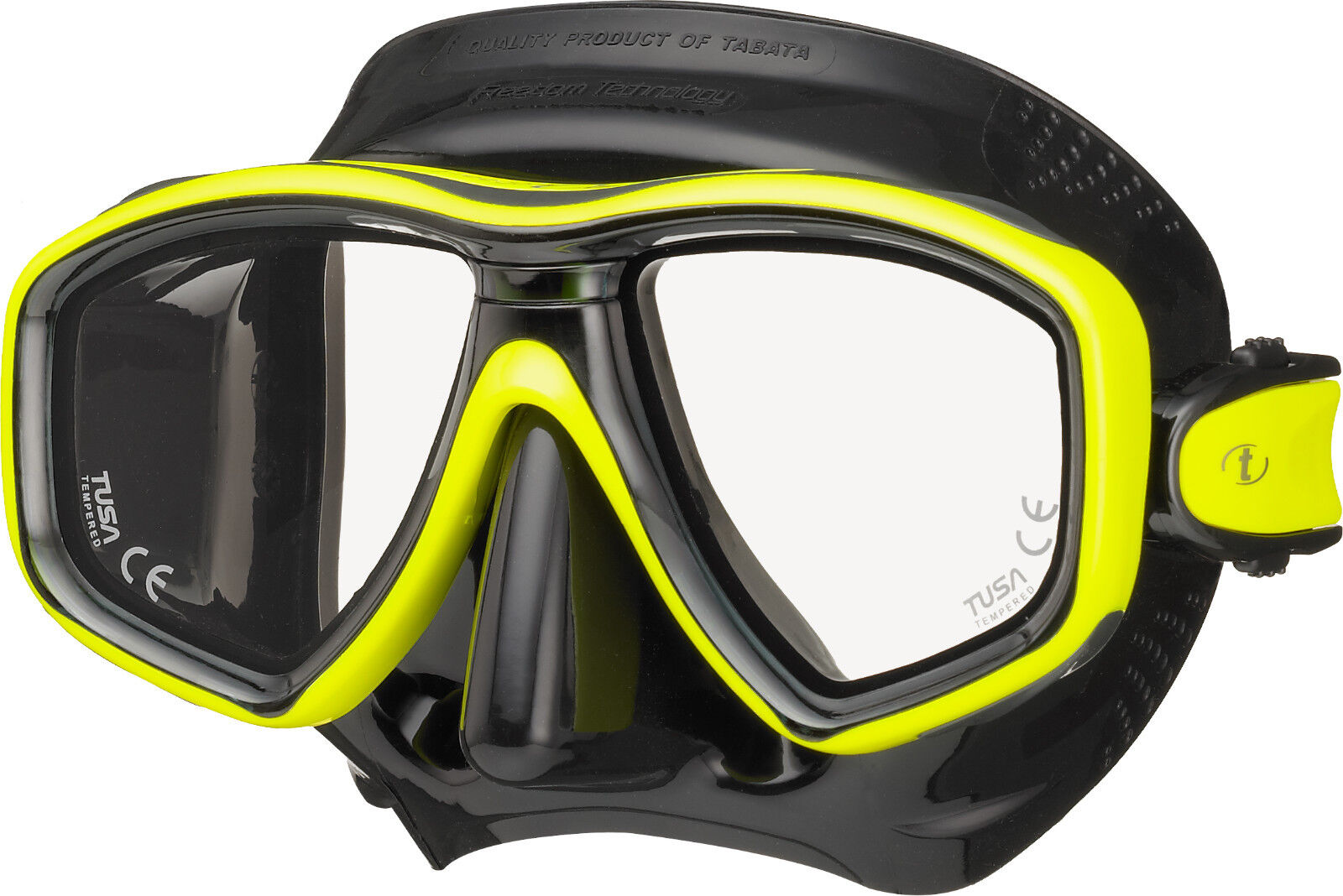 Tusa Libertà Ceos Maschera Scuba Diving,Immersioni in Apnea ,Snorkeling BK  Yl
