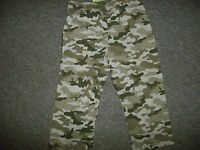 Peanut & Ollie French Terry Toddler Boy Pants Green Camo 12m 18m 24m 2t 3t 4t 5t