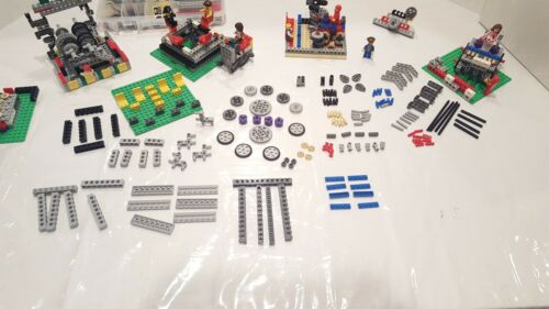 LEGO DIY Gears Wheels Bricks Technical Axles 182 Pieces-Use with Motor Battery