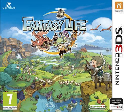 Fantasy Life - 3DS Games