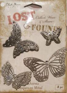 Metal-Butterflies-for-Craft-Scrapbooking-Metal-Charms-4-piece