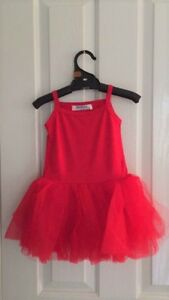 84135e6729d Kids Baby Girls Summer Christmas Red Tulle tutu Dress Size 0.1.2