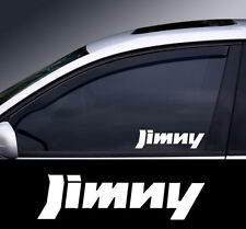 2 x Suzuki Jimny Window Decal Sticker Graphic *Colour Choice*