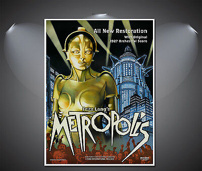 Metropolis Vintage Movie Poster - A1, A2, A3, A4 available