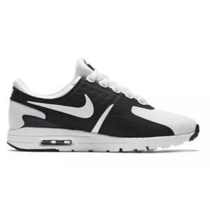 promo code 132b1 267e0 Image is loading Nike-Air-Max-Zero-Black-White-857661-006-