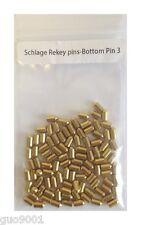 100 Pieces Schlage Rekey Bottom Pins 3 Locksmith Rekeying Pin Key Kits