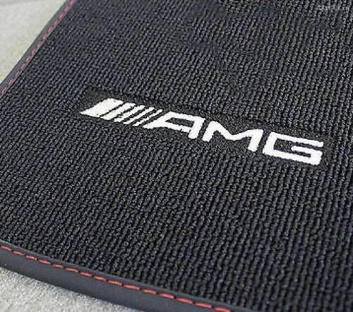 Mercedes Benz AMG Original Fussmatten X 117 CLA Shooting Brake Schwarz//Rot Neu