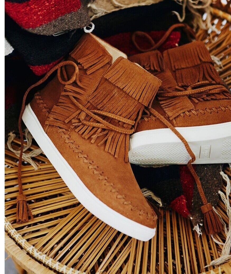 grande sconto New New New Free People Bainbridge Fringe scarpe da ginnastica Dimensione 8.5  risparmia fino al 70%