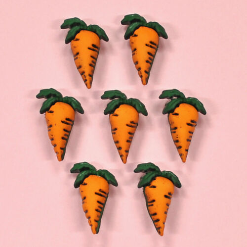 Buttons Galore Carrots 4093 Carrot Crop Embellishments Easter Dress it Up