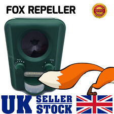 Garden Fox Squirrel Cat Repeller Scarer Solar Powered Ultra Sonic