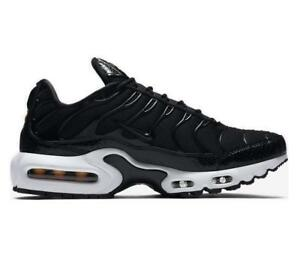 e219d4404cce Image is loading Womens-NIKE-AIR-MAX-PLUS-SE-Black-Trainers-