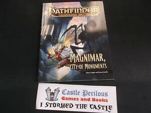Details about Pathfinder Campaign Setting: Magnimar, City of Monuments -  Adam Dangle RPG Book