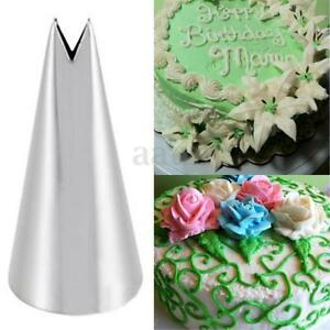 Leaf Tip For Cake Decorating : Leaf Shape Icing Piping Tips Nozzle Cake Cupcake ...