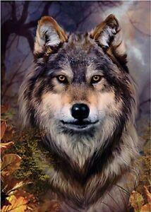 """Puzzles 1000 pieces 48*68 cm """"Bente Schlick. Wolf"""" Step Puzzle 79109"""