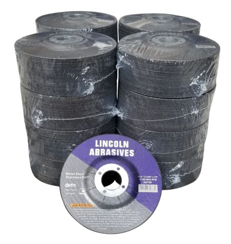 "400 Pc Depressed Center 4-1//2/"" x .040/"" x 7//8/"" Cut-Off-Wheels Metal Cutting Discs"