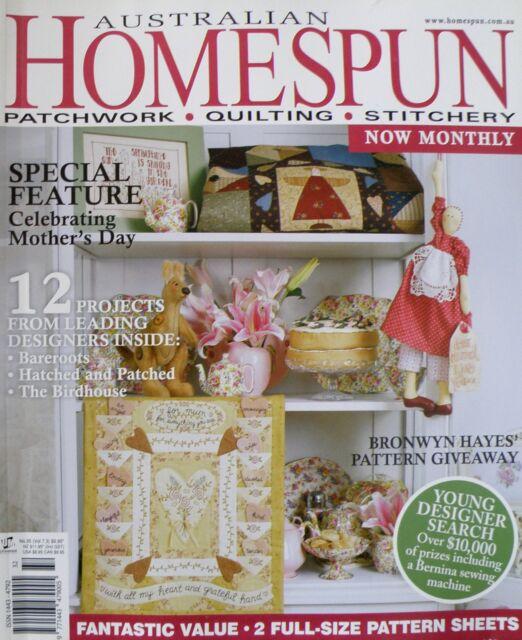 Australian Homespun Magazine No 35 Vol 7.3 - 20% Bulk Magazine Discount