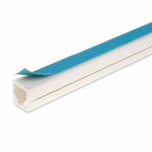 25-x-16-Self-Adhesive-Mini-Trunking-White-Electrical-Cable-Conduit-Wire-Channel