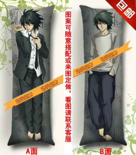 Anime Dakimakura pillow case Death Note Lawliet