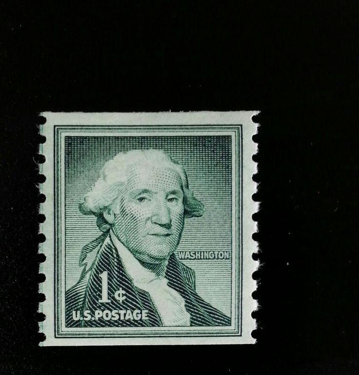 1960 1c George Washington, Coil Scott 1054 Mint F/VF NH