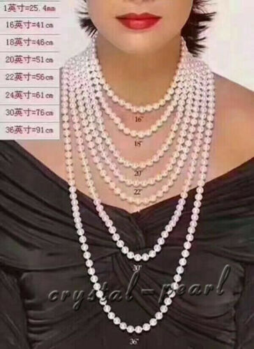 """Stunning 18/"""" AAA 4-5 MM Akoya south sea NATURAL WHITE PEARL NECKLACE 14K GOLD"""