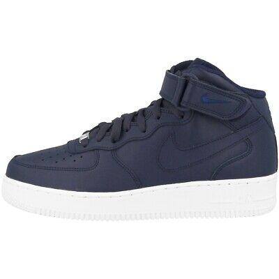 Détails sur Nike Air Force 1 Mid'07 Chaussures Retro High Top Sneaker obsidian White 315123 415 afficher le titre d'origine