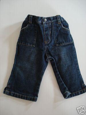 Old Navy Classic Girls Denim Jeans 6-12 months EUC