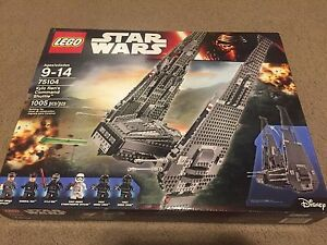 Lego Star Wars Kylo Ren/'s Shuttle Ship New Sealed