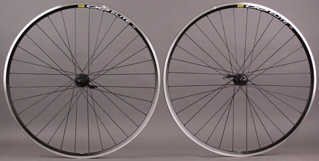 Mavic Open Pro Silver Rims Shimano 5800 Hubs Road Bike Wheelset 8 9 10 11 Speed