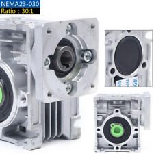 Worm Gear Reducer Withworm Gearbox Speed Ratio 301 For Cnc Stepper Motor