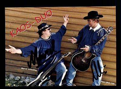 Suche Nach FlüGen Kaos Duo Autogrammkarte Original Signiert ## Bc 67684 National