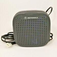 Motorola Hsn4038a External Remote Speaker For Vhf Uhf 800mhz Mobile Radios