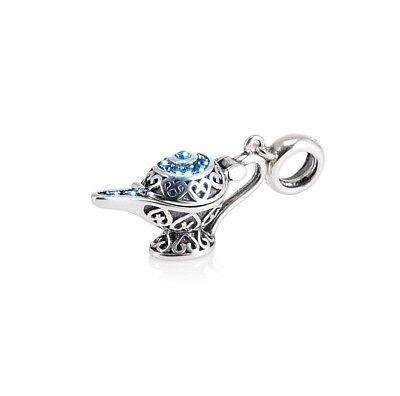Schlüsselanhänger Aladdin's Lampe Charm,silberschmuck,disney Charm Für Armband,