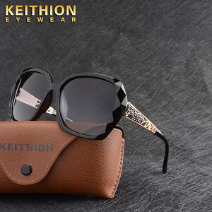 Womens Ladies Designer Polarized Oversized Sunglasses Driving Eyewear UV400