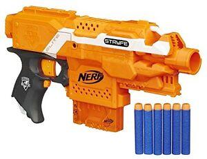 Image is loading Nerf-N-Strike-Elite-Stryfe-Strife-Blaster-Gun-