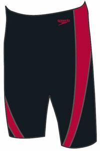 Speedo-Lepa-Jammer-Black-China-Red-Endurance-Plus